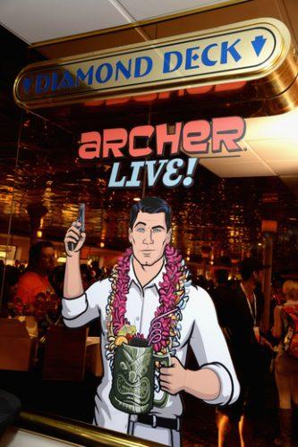 Archer Live Cast FX5