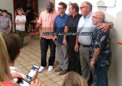 Bad News Bears Cast Reunion Signing autographs7