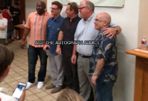 Bad News Bears Cast Reunion Signing autographs8