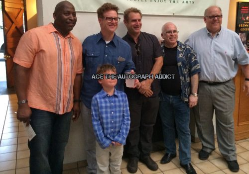 Bad News Bears Cast Reunion Signing autographs9