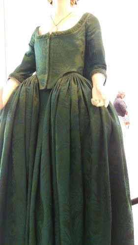 Peacock Silk Gown (Starchamber)