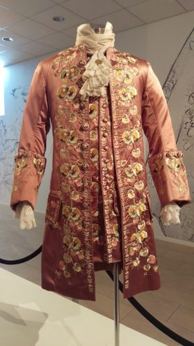 Prince Charles Stuart (Pink embroidered suit)