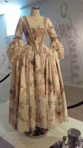 Louise de Rohan (Hand-painted muslin day dress)