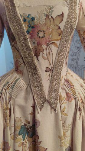 Details: Louise de Rohan (Hand-painted muslin day dress)