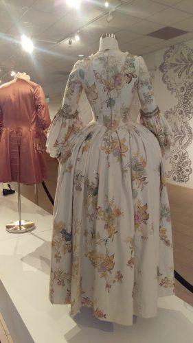 Back: Louise de Rohan (Hand-painted muslin day dress)