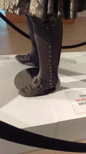 Boots: Comte St. Germain (Silver suit with metal trim and turquoise waistcoat with silver embellishments)