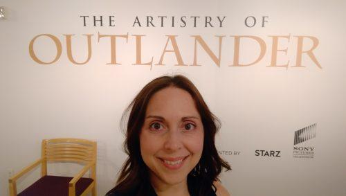 Paley Center Outlander Costume Exhibit