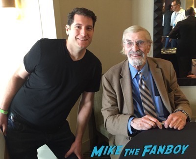 Martin Landau fan photo selfie 2016