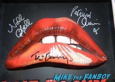 Rocky Horror Picture Show mcfarlane 3d poster signed autograph tim curry barry bostwick nell campbell patricia quinn
