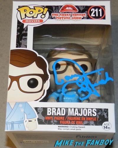 Barry Bostwick signed autograph funko pop vinyl Brad Majors