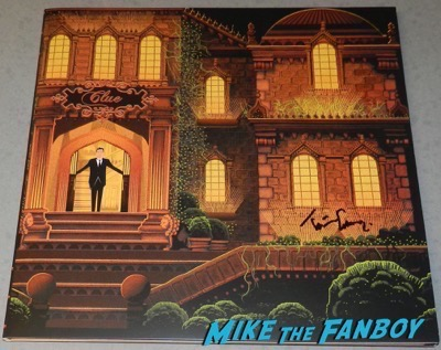 tim curry signed autograph clue the movie mondo lp vinyl