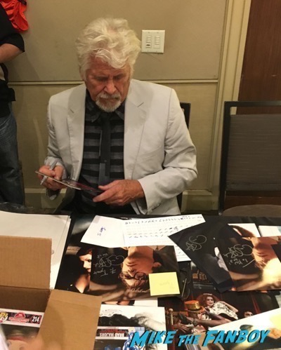 Barry Bostwick signing autographs Rocky Horror Picture Show reunion 2016 hollywood Show 108