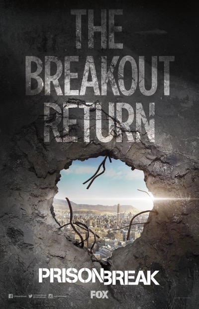 SDCC 2016 Fox Posters prison break