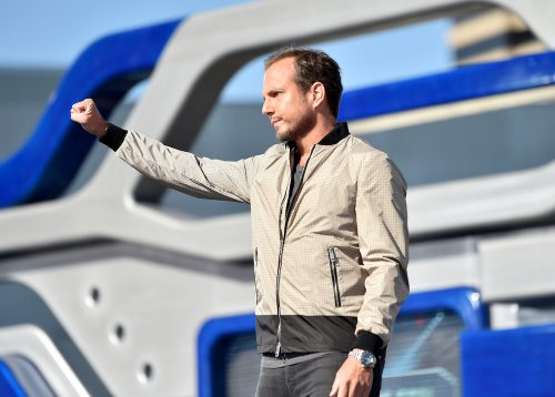 SYFY PRESENTS LIVE FROM COMIC-CON -- Season:2016 -- Pictured: Will Arnett -- (Photo by: Mike Windle/Syfy)