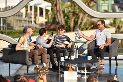 SYFY PRESENTS LIVE FROM COMIC-CON -- Season:2016 -- Pictured: (l-r) -- (Photo by: Mike Windle/Syfy)
