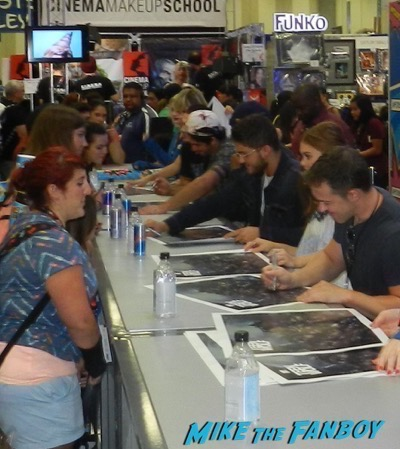 Teen Wolf SDCC 2016 signing autographs rare 8