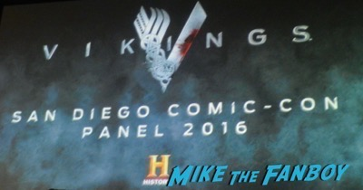 Vikings 2016 SDCC Comic Con Panel Travis Fimmel Clive Standen 5
