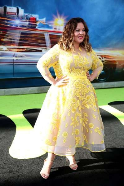"Los Angeles, CA - Saturday, July 9, 2016: Melissa McCarthy is seen at the Los Angeles Premiere of Columbia Pictures' ""Ghostbusters"" at TCL Chinese Theatre on Saturday, July 9, 2016, in Los Angeles. (Photo by Blair Raughley/Invision for Sony/AP Images)"
