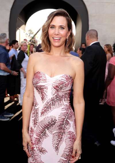"Los Angeles, CA - Saturday, July 9, 2016: Kristen Wiig is seen at the Los Angeles Premiere of Columbia Pictures' ""Ghostbusters"" at TCL Chinese Theatre on Saturday, July 9, 2016, in Los Angeles. (Photo by Eric Charbonneau/Invision for Sony/AP Images)"