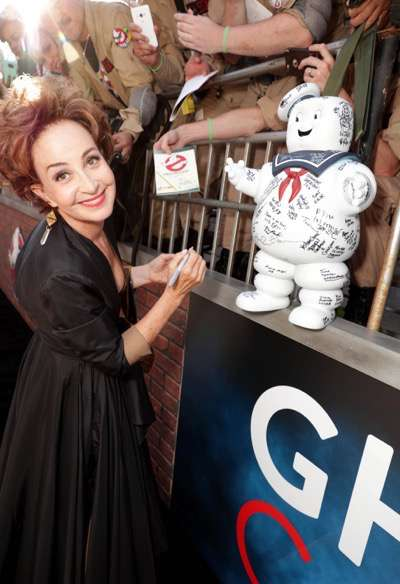 "Los Angeles, CA - Saturday, July 9, 2016: Annie Potts is seen at the Los Angeles Premiere of Columbia Pictures' ""Ghostbusters"" at TCL Chinese Theatre on Saturday, July 9, 2016, in Los Angeles. (Photo by Eric Charbonneau/Invision for Sony/AP Images)"