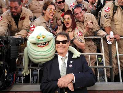 "Los Angeles, CA - Saturday, July 9, 2016: Dan Aykroyd is seen at the Los Angeles Premiere of Columbia Pictures' ""Ghostbusters"" at TCL Chinese Theatre on Saturday, July 9, 2016, in Los Angeles. (Photo by Eric Charbonneau/Invision for Sony/AP Images)"