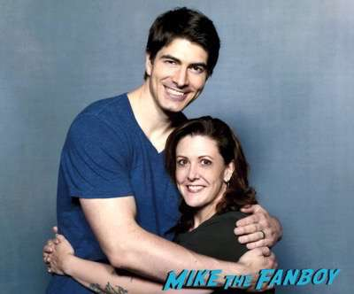 Brandon Routh Fan photo heroes and villains fan fest san jose meeting fans
