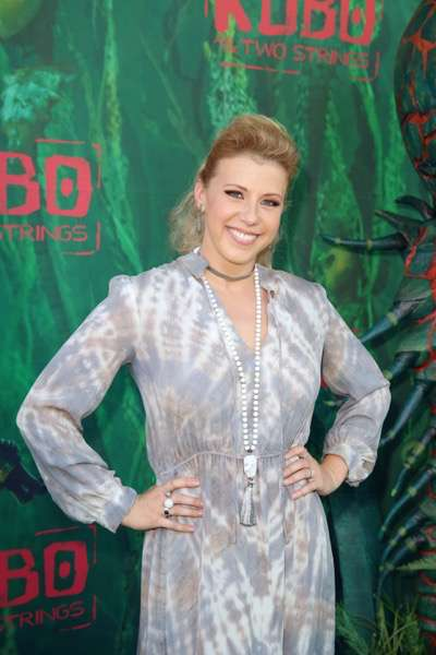 "Jodie Sweetin seen at Focus Features Los Angeles Premiere of LAIKA ""Kubo and The Two Strings"" on Sunday, Aug. 14, 2016, in Universal City, Calif. (Photo by Blair Raughley/Invision for Focus Features/AP Images)"