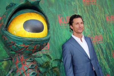 """Matthew McConaughey seen at Focus Features Los Angeles Premiere of LAIKA """"Kubo and The Two Strings"""" on Sunday, Aug. 14, 2016, in Universal City, Calif. (Photo by Blair Raughley/Invision for Focus Features/AP Images)"""