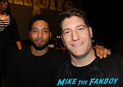 Jussie Smollett fan photo with fans Empire FYC q and a panel terrence Howard Taraji p Henson 11