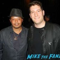 Terrence Howard fan photo with fans Empire FYC q and a panel terrence Howard Taraji p Henson 11