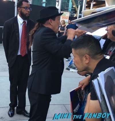 Danny Trejo signing autographs meeting fans Hell or High Water Premiere ben foster signing autographs for fans meeting fans 15