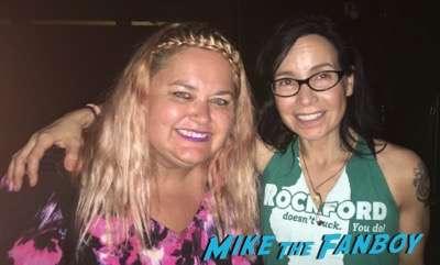 Janeane Garofalo fan photo meeting fans now 2016