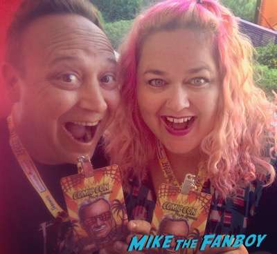 pinky and keith coogan palm springs comic con
