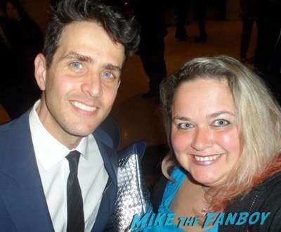Joey McIntyre Meeting Fans selfie