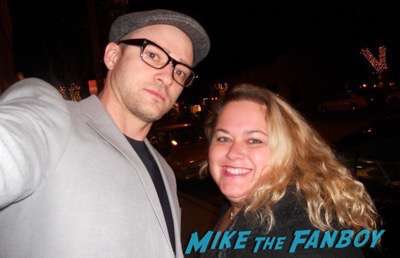 Justin Timberlake meeting fans selfie fan photo