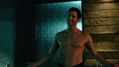 Lucifer: The Complete First Season DVD Review shirtless naked