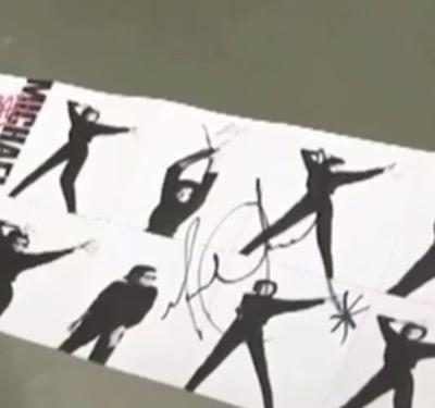 Michael Jackson autograph signed 1