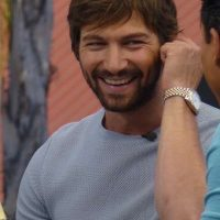 Michiel Huisman signing autographs extra game of thrones hot sexy meeting fans 1