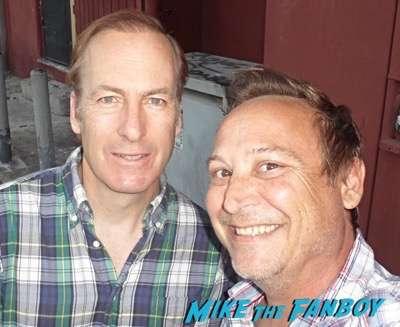 Bob Odenkirk fan photo meeting fans rare