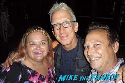 andy dick fan photo meeting fans rare