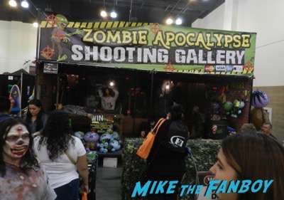 zombie shooting gallery ScareLA Cosplay 2016 horror costumes 13