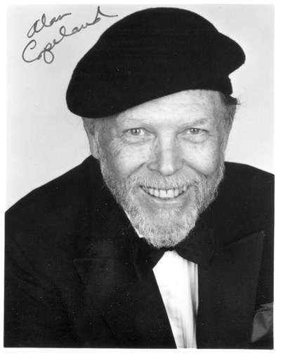 alan_copland headshot signed autograph photo rare promo