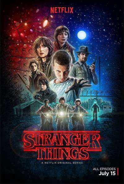 stranger-things one sheet poster