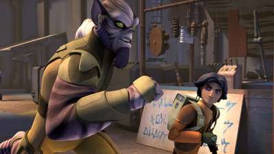Star Wars rebels complete second season blu ray review