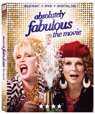 absolutely fabulous blu ray cover