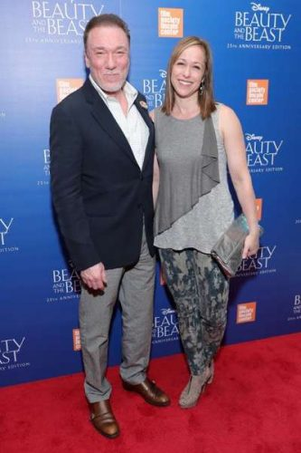"NEW YORK, NY - SEPTEMBER 18: Patrick Page and Paige Davis attend the special screening of Disney's ""Beauty and the Beast"" to celebrate the 25th Anniversary Edition release on Blu-Ray and DVD on September 18, 2016 in New York City. (Photo by Neilson Barnard/Getty Images for Walt Disney Studios Home Entertainment) *** Local Caption *** Patrick Page; Paige Davis"