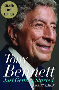 tony Bennett signed autograph book pre-order