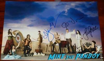 Lana Parilla signed autograph once upon a time cast photo