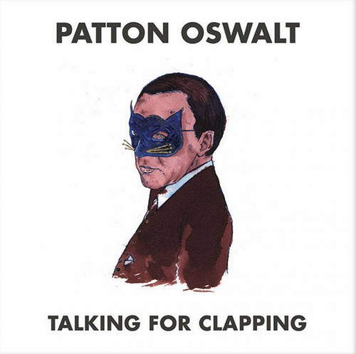 patton oswalt talking not clapping signed cd pre order