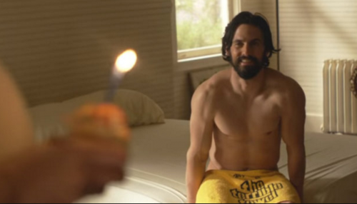 this is us shirtless milo ventimiglia naked